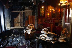 Пожар избухна в прочутото парижко кафене