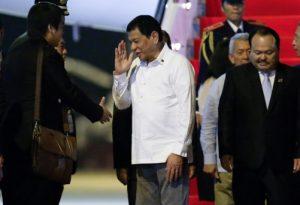 Владимир Путин се е срещнал с колегата си от Филипините
