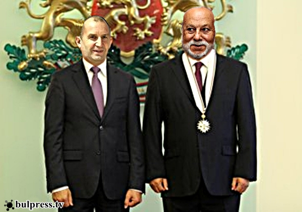 Медал за Бедрос Киркоров +ВИДЕО