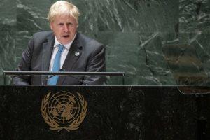 Борис Джонсън призова света