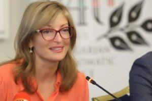Екатерина Захариева: Няма лошо във визитата на Румен Радев в Москва за 9 май