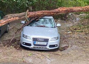 Смерч връхлетя Тополовградско, прекъснато е електричеството, а щетите са сериозни (снимки)