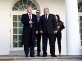 Тръмп прие Борисов в Белия дом: България е за пример на Германия (снимки)
