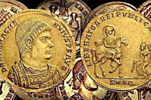 Стефан Пройнов: Златен медальон на Магнеций 350 – 353г.