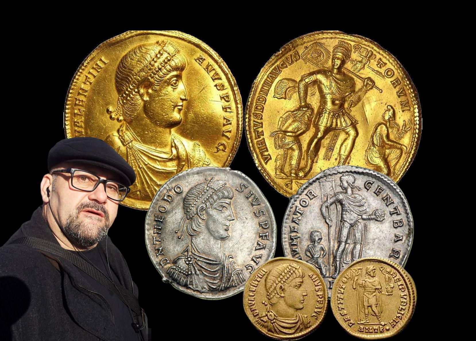 Стефан Пройнов: Златен медальон на Валентиниан I